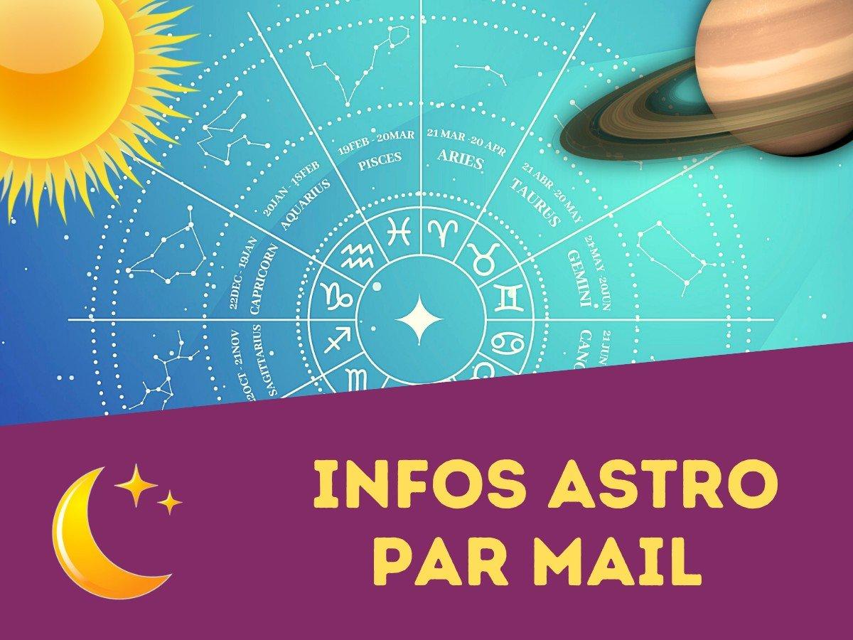 newsletter astrologie