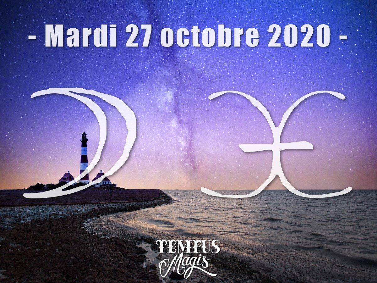 Lune en Poissons octobre 2020
