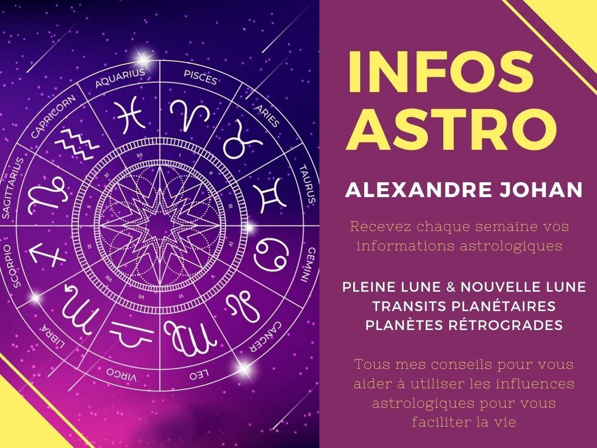 Lettre d'informations astrologiques