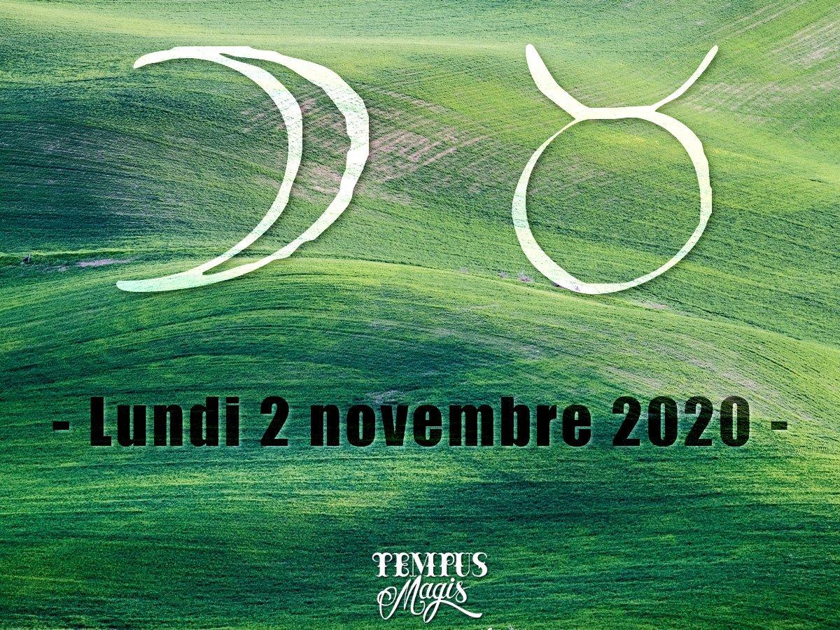 Lune en Taureau novembre 2020