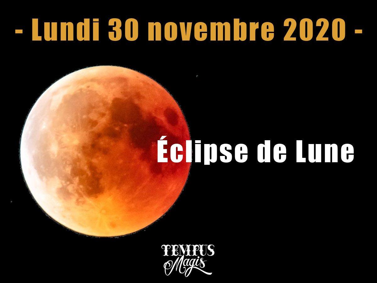 Eclipse de Lune novembre 2020