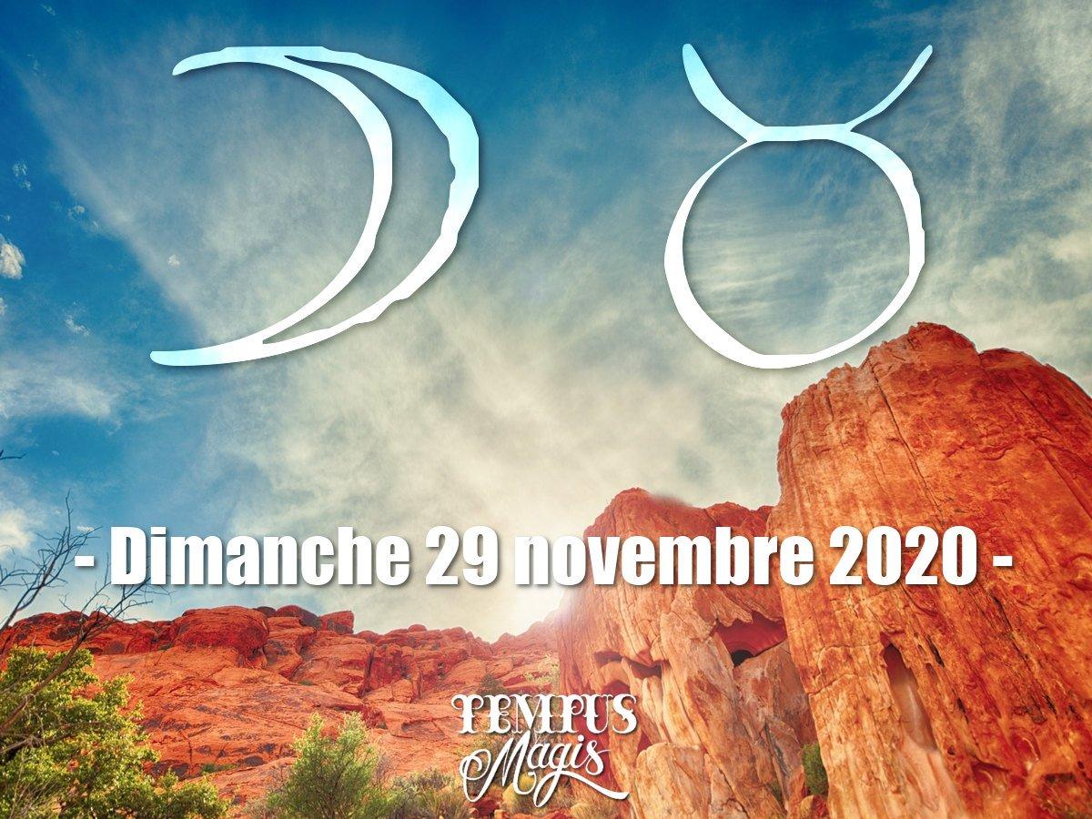 Astrologie du jour : Lune en Taureau novembre 2020