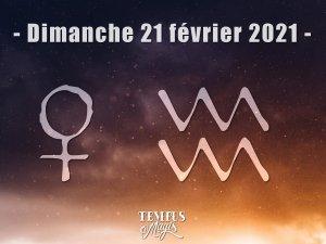Vénus en Verseau (21/02/2021)