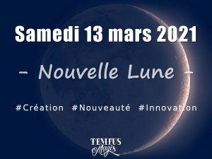 Nouvelle Lune (13 mars 2021)