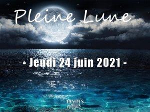 Pleine lune (24 juin 2021)