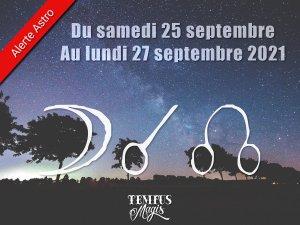 Conjonction Lune / Noeud lunaire Nord (25/09/2021)