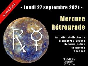 Mercure rétrograde septembre 2021