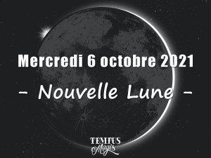 Nouvelle Lune (6 octobre 2021)
