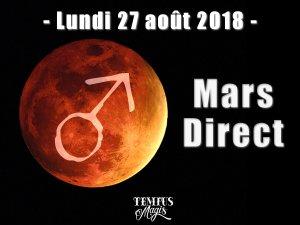 Mars direct (27/08/2018)