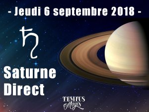 Saturne Direct (06/09/2018)