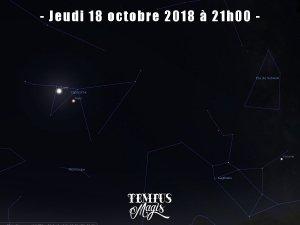 Observation conjonction Lune / Mars (18/10/2018)