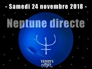 Neptune directe (24 novembre 2018)