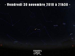 Observation de Mars en Verseau (novembre 2018)