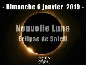 Nouvelle Lune - Eclipse de Soleil (6/01/2019)