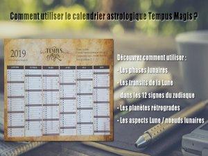 Calendrier astrologique 2019