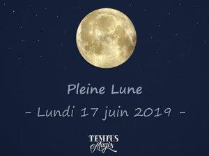Pleine Lune (17/06/2019)