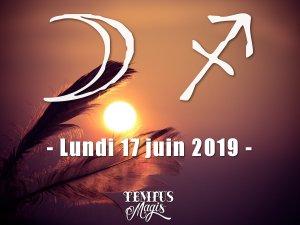 Lune en Sagittaire (17/06/2019)