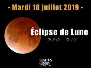 Eclipse de Lune (16/07/2019)