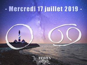 Le Soleil entre en Cancer (17/07/2019)