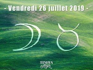 Lune en Taureau (26/07/2019)