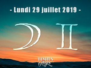 Lune en Gémeaux (29/07/2019)