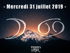 Lune en Cancer (31/07/2019)
