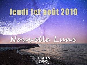 Nouvelle Lune (1/08/2019)