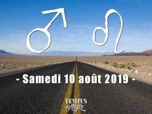 Mars entrera en Lion (10/08/2019)