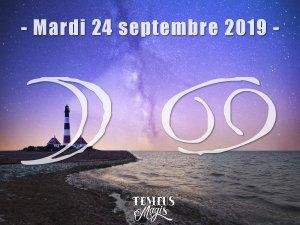 Lune en Cancer (24/09/2019)