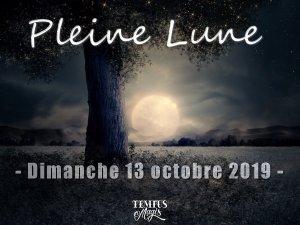 Pleine Lune (13/10/2019)