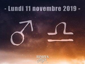 Mars en Balance (11/11/2019)