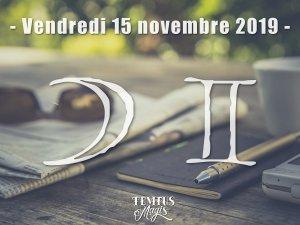 Lune en Gémeaux (15/11/2019)