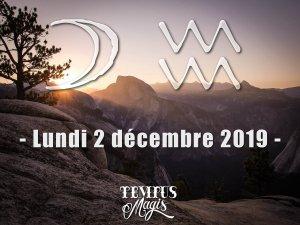 Lune en Verseau (02/12/2019)