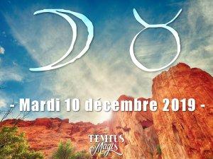 Lune en Taureau (10/12/2019)