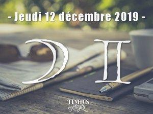 Lune en Gémeaux (12/12/2019)