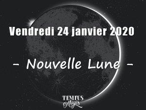 Nouvelle Lune (24/01/2020)