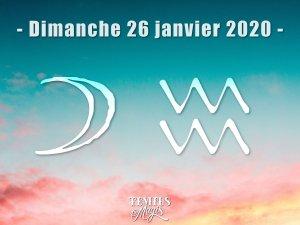Lune en Verseau (26/01/2020 )