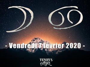 Lune en Cancer (07/02/2020)