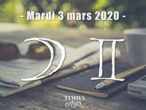 Lune en Gémeaux (03/03/2020)
