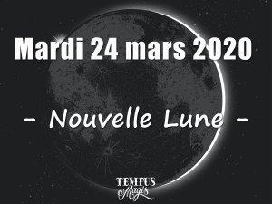 Nouvelle Lune (24/03/2020)