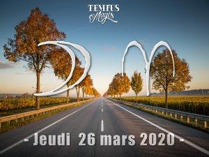 Lune en Bélier (26/03/2020)