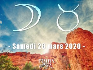 Lune en Taureau (28/03/2020)