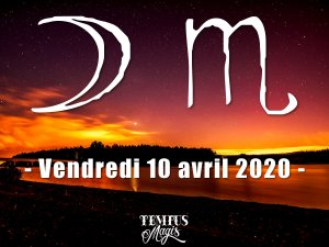 Lune en Scorpion (10/04/2020 )