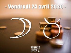 Lune en Taureau (24/04/2020)