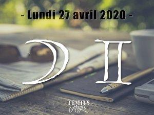 Lune en Gémeaux (27/04/2020)