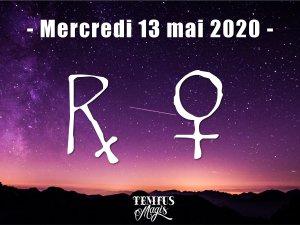 Vénus rétrograde (13/05/2020)