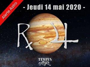 Jupiter rétrograde (14/05/2020)