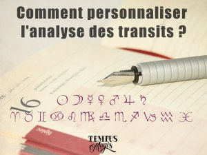 Personnaliser l'analyse des transits