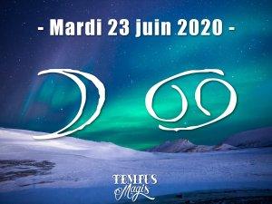 Lune en Cancer (23/06/2020)
