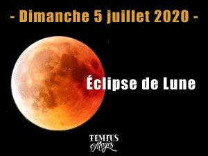 Pleine Lune - Eclipse de Lune (5 juillet 2020)